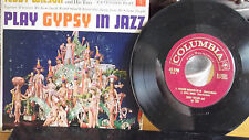 TEDDY WILSON AND HIS TRIO PLAY GYPSY IN JAZZCOLUMBIA EP W/ORGINAL PICTURE SLEEVE