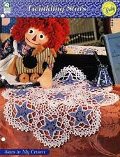 Stars in My Crown Crochet Doily Pattern Instructions Collectible Doily Series
