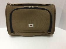 Victorinox Toiletry Kit Shaving Bag Travel Packing Accessory Brown Black