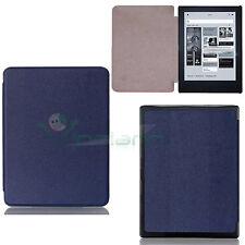 Custodia cover eco pelle BLU per ebook reader Mondadori Kobo Aura H2O eReader