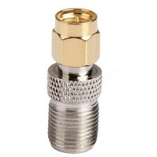 RF coaxial Connector Adapter RP SMA Male Plug To F Type Female straight Jack New