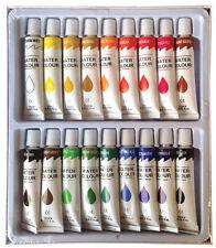 18 PC WATERCOLOR Paints Set Professional Artist Painting Pigment Tubes 12ml