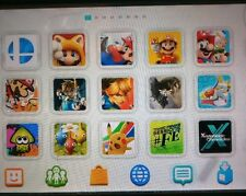 ULTIMATE Nintendo Wii U Black Console Only WITH OVER 100 GAMES & DLC INSTALLED!