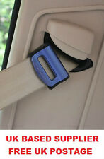 BLUE JAGUAR SEAT ADJUSTABLE SAFETY BELT STOPPER CLIP CAR TRAVEL 2PCS
