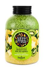 Badesalz Tutti Frutti Kiwi & Sternfrucht, Badezusatz Duftsalz für die Wanne 600g