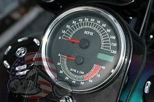 Electronic Analog Speedometer Speedo Tachometer Tach Combo Drop In Harley FXST
