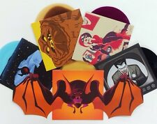 "Batman: The Animated Series - Mondo 7"" vinyl FULL SET - SDCC 2014 exclusives"