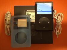 Apple iPod Classic 5th Generation Black (60GB) w/ Extras