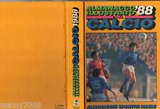 ALMANACCO ILLUSTRATO DEL CALCIO 1988=EDIZIONI PANINI=SERIE A-B-C-D=COPPE=ITALIA