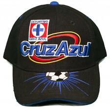 NEW!! Cruz Azul Futbol Club - Velcro Back Hat 3D Embroidered Cap - La Máquina