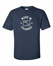 """""""Made in Colorado"""" T-Shirt S-4XL nuggets broncos rocky mountain state denver"""