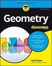 Geometry for Dummies by Mark Ryan (2016, Paperback)