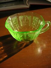 "Green Princess Depression Glass - 4"" Cup - by Anchor Hocking Glass Company"