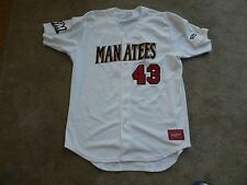 2016 Brevard County Manatees Game Used Jersey #43 Milwaukee Brewers