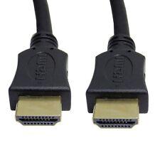 Qualità 1m Cavo HDMI High Speed PIOMBO PER HD HDTV PLAYSTATION PS NINTENDO