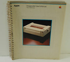 VINTAGE APPLE IMAGEWRITER USER'S MANUAL PART 1 REFERENCE GUIDE, BOOK, MANUAL
