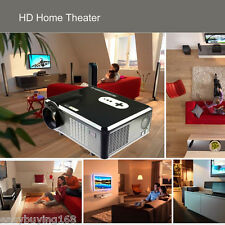 NEW LCD/LED Video Projector Home Theater 1080P HD HDMI TV for PS3 3D Movie Night