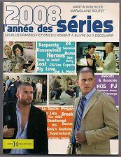 2008 L'ANNEE DES SERIES - Dr HOUSE/DEXTER/SEINFELD/4400