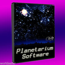 ASTRONOMY SOFTWARE SPACE EXPLORATION PLANETARIUM, SKY CHARTS, CELESTIAL OBJECTS