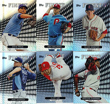 """2013  TOPPS  """"FINEST""""  REFRACTOR    PIC  YOUR OWN 10 CARD LOT"""