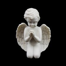 12 Ivory Ceramic Cherub Angel Cupid Figurine Statue Resin Gift Favor Decor Pray