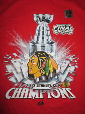 2013 CHICAGO BLACK HAWKS Stanley Cup Champions (LG) T-Shirt w Holo