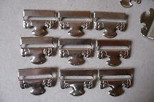 Antique/Vintage Stocking/Hosiery Clips or Suspenders. Metal (20)