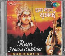 "RAM NAAM SUKHDAI - "" BHAJANS BY MANNA DEY "" - NEW BOLLYWOOD CD - FREE UK POST"