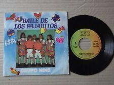 "GRUPO NINS - BAILE DE LOS PAJARITOS 7"" single + postcard"