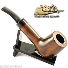 "OUTSTANDING Mr.Brog original smoking pipe nr 51 brown smooth classic "" AMIGO """