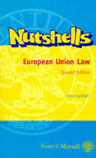 EUROPEAN UNION LAW (NUTSHELL), MIKE CUTHBERT, Used; Good Book