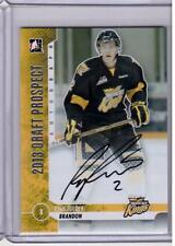 RYAN PULOCK 12/13 ITG 2013 Draft Prospects Rookie Autograph Auto RC A-RP