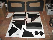 New Door and Interior Panel Set with Door Pockets MGA 1955-1962 Made in the UK