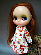 C.C.T Blythe Pullip Dal doll outfit snowman print jacket