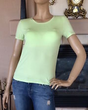 UNIQLO WOMEN BRA SHORT SLEEVE T-SHIRT COLOR LIGHT GREEN NWT SIZE XS