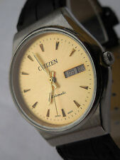 CITIZEN AUTOMATIQUE GN4S MIXTE DE 21 Rbs,ELEGANT MODEL DE 1980 FONCTIONNELLE,TBE