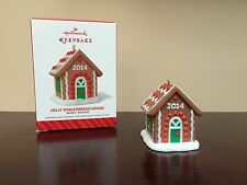 2014 Hallmark Keepsake Ornament JOLLY GINGERBREAD HOUSE    Merry Makers