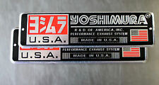 Motorcycle Decals | Stickers | Embossed Yoshimura 2 Pieces Good quality