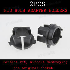 Newest 2pcs HID Conversion Xenon Bulbs Holders Adapters Adaptor H7 For KIA K5