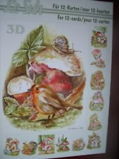 Le Suh Fungi decoupage book - A5 size - to make 12 cards - 345638