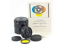 INDUSTAR 50-2 F/3.5 50mm m42 SLR LENS TESSAR TYPE BOX MANUAL MINT