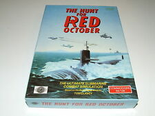 THE HUNT FOR RED OCTOBER by GRANDSLAM for COMMODORE 64 COMPLETE NICE!