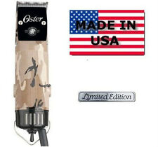 Oster Classic 76 Hair Clipper Limited Edtion camo operation home front New