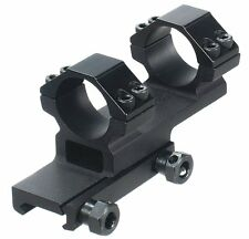 UTG RGWMOFS38-25H4 Accushot 1Pc Offset Mount w/1 Rings, Weaver/Picatinny Mount