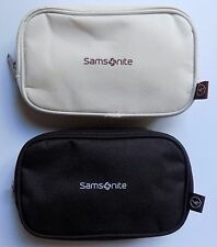 Two New Latest Lufthansa Samsonite Business Class Inflight Amenity Bags QUALITY!