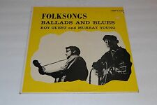 Folksongs~Ballads And Blues~Roy Guest And Murray Young~Dominion~FAST SHIPPING