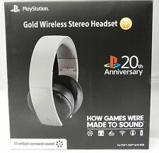 Sony Gold Wireless Headset 20th Anniversary Edition (Playstation 4/PS4) NEW!!!