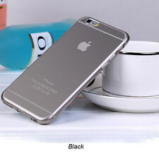 """Slim Ombre Clear Transparent Soft Silicone TPU Gel Case Cover For iPhone 6 4.7"""""""