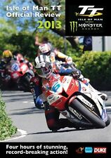Isle of Man TT - Official Review 2013 (New DVD) McGuinness Anstey Dunlop Martin