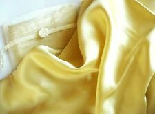 100% Mulberry silk charmeuse pillowcase Standard Royal gold pillow case
